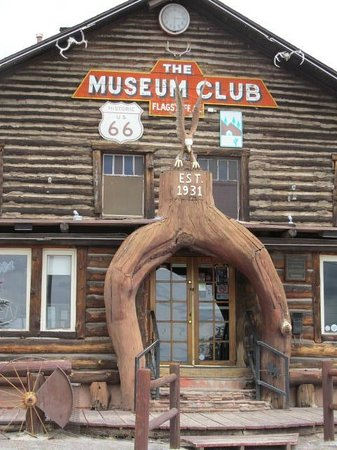 The Museum Club: Exterior