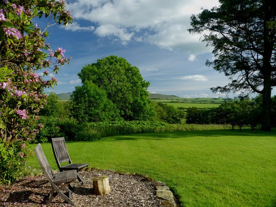 Boltongate Old Rectory: somewhere to rest and enjoy the view
