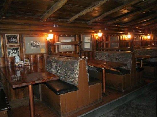 The Museum Club: Interior of club