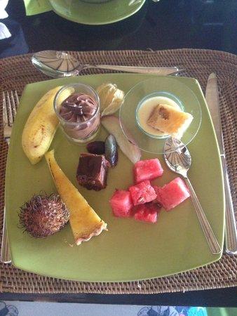 Angsana Ihuru : Завтрак