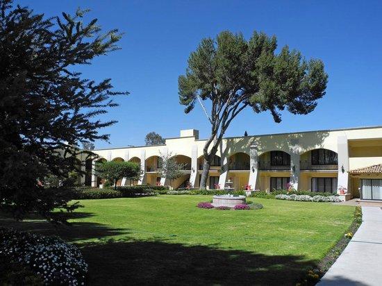 Mision San Miguel de Allende : Blick in den Garten vom Zimmer aus