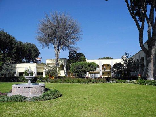 Mision San Miguel de Allende : Blick in den Garten