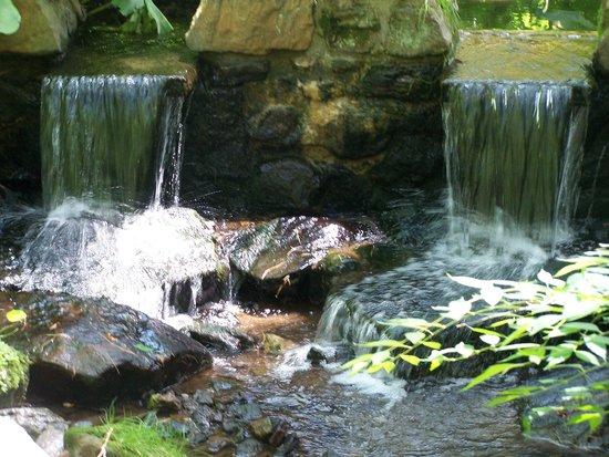 Chanticleer: Lovely waterfalls!