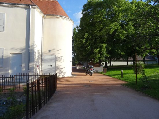 Chateau du Bost Hotel & Restaurant: Arrivée