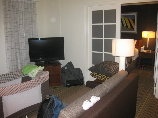Residence Inn Los Angeles LAX/Manhattan Beach: Penthouse living room