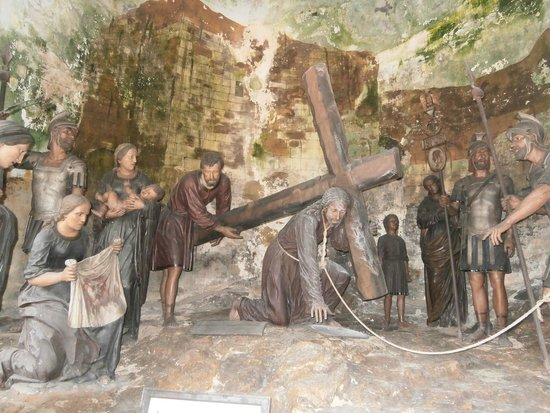 Bom Jesus do Monte: One of the powerful stations of the cross in the chapels on the way up
