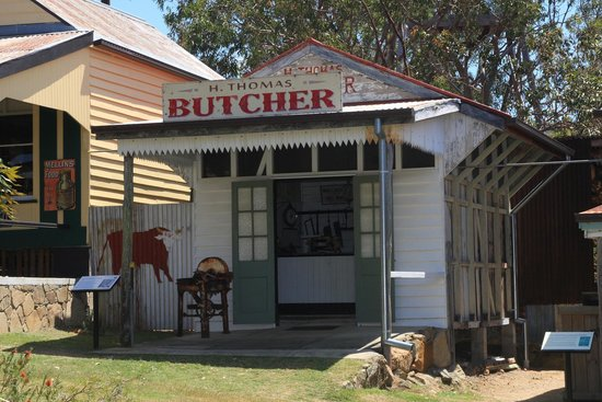 Historic Village Herberton: Butchers shop