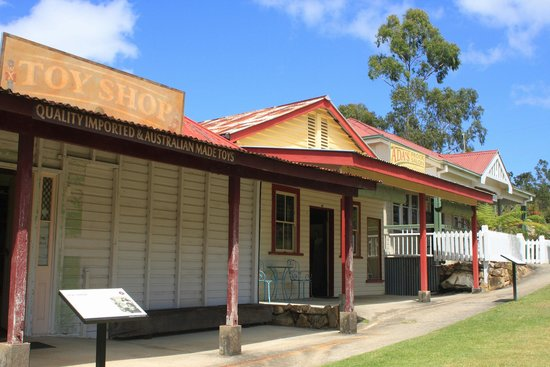 Historic Village Herberton: Toys in the toy shop will take you back.