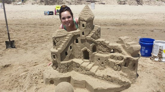 Sandcastle Lessons: The best addition to our vacation! Thanks for the amazing experience Andy!