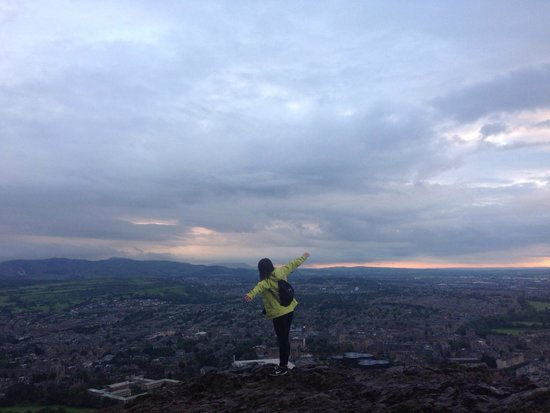 Arthur's Seat: The most dramatic moment in my life!!!
