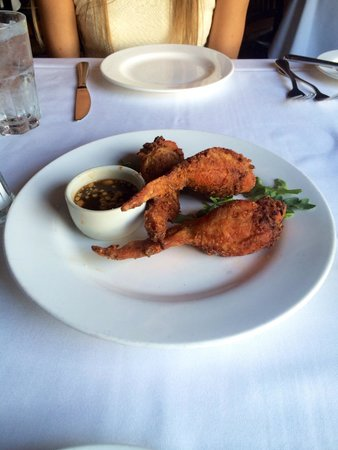 Nola Restaurant: Stuffed fried chicken!