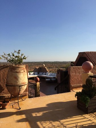 Kasbah Le Mirage: View from Roof Garden