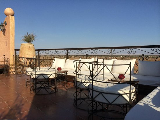 Kasbah Le Mirage : View from Roof Garden