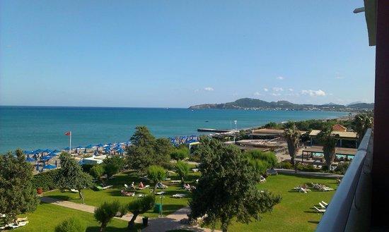 Esperides Beach Family Resort: Ausblick vom Balkon
