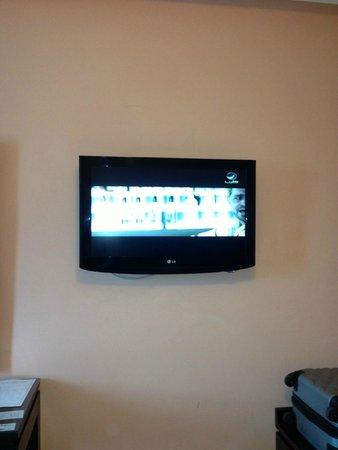 Hotel Almas : ecran plat