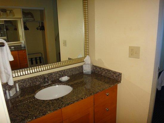 Residence Inn Fort Lauderdale SW/Miramar : Banheiro