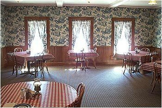 Brookville Hotel Restaurant: Original Dining Room