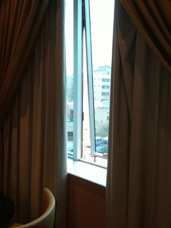 Hotel Almas : fenetre