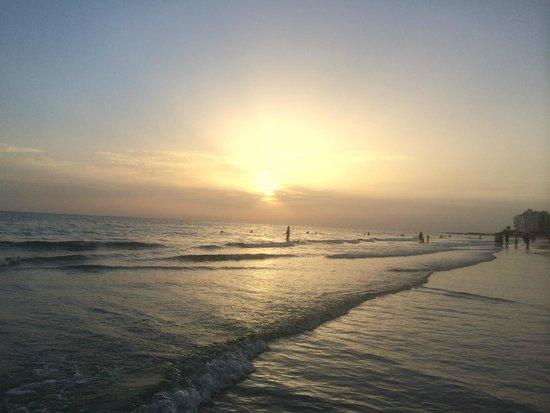 Guy Harvey Outpost, a TradeWinds Beach Resort: Beach at Sunset