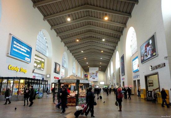 Novum Hotel Rieker Stuttgart Hauptbahnhof : The central train station