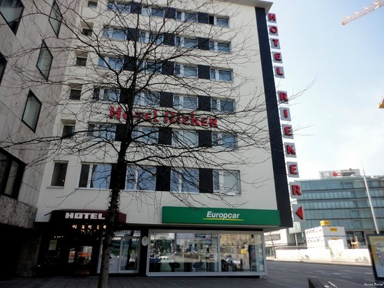 Novum Hotel Rieker Stuttgart Hauptbahnhof : The hotel