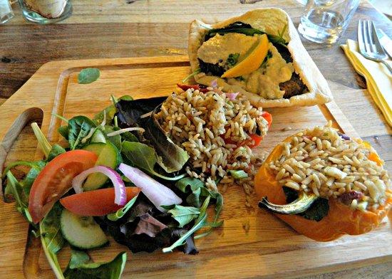 The Kings Head: Vegan meal prepared especially!