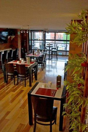 Centro 19 Hotel: Zona de restaurant
