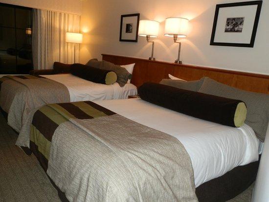 Hard Rock Hotel at Universal Orlando: Cosy, clean rooms