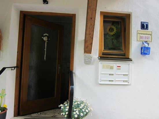 Haus Bagci: front door
