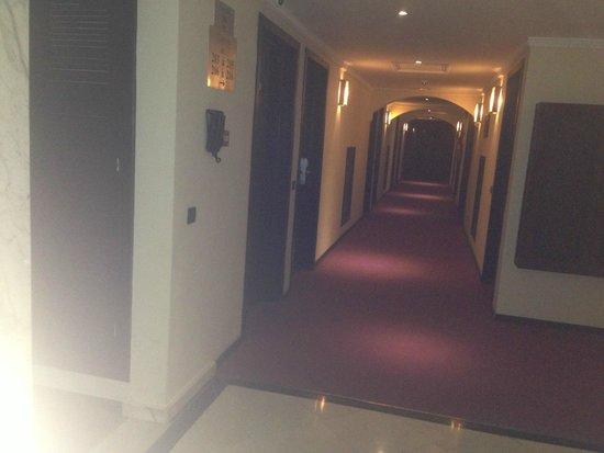 Hotel Almas : couloir