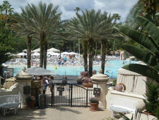 Hard Rock Hotel at Universal Orlando: Hotel pool
