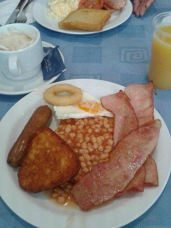 Hotel Roc Continental Park: breakfast