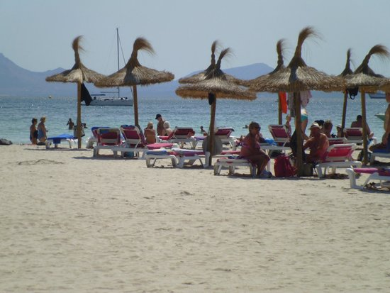 Hotel Roc Continental Park: beach 3 minits walk