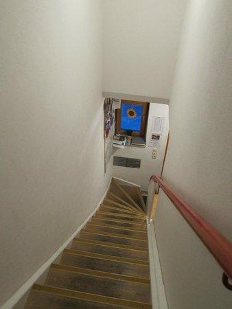 Haus Bagci: stairs