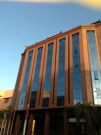 Hotel Almas: facade