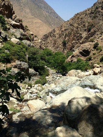 Hotel Almas: cascade