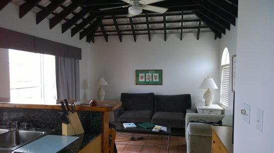 The St. George's Club: Living room