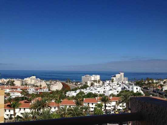 Apartamentos Caribe: View from the balcony of the room
