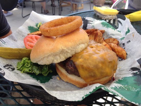 Grizzly Creek Restaurant: Buffalo Burger
