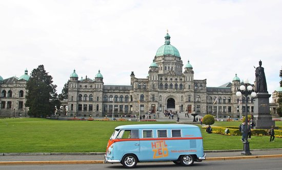 Hotel Zed bus in Victoria BC