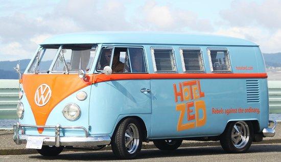 Hotel Zed Shuttle Bus '67 classic VW