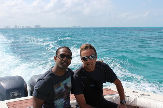 Temptation Cancun Resort: An awesome scuba instructor!!