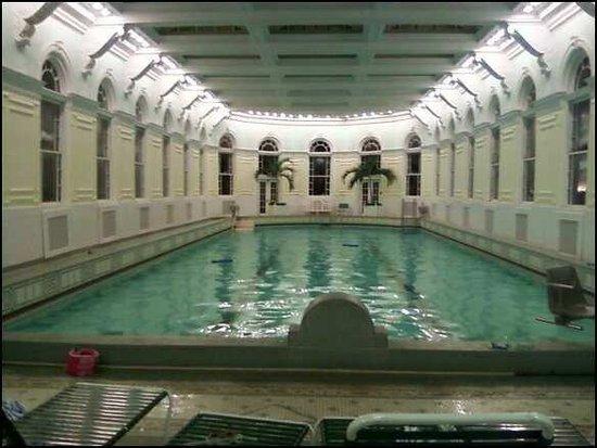 The Homestead: Indoor naturally heated pool