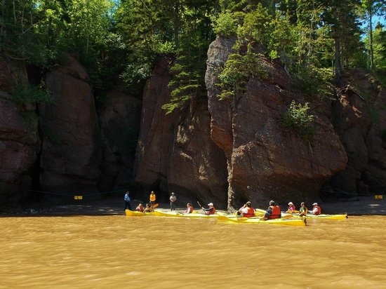 Baymount Outdoor Adventures: The group finally caught up