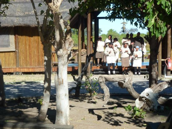 Belmond Khwai River Lodge : Welcome at Kwhai River Lodge