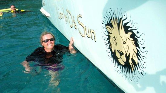 Lion In Da Sun: The Pic says it all