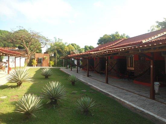 Hotel Pousada Bonsai: patio interno