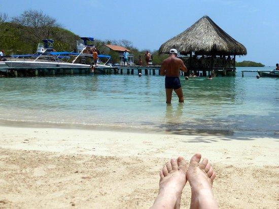 Tours in Rosario islands : Isla del Sol