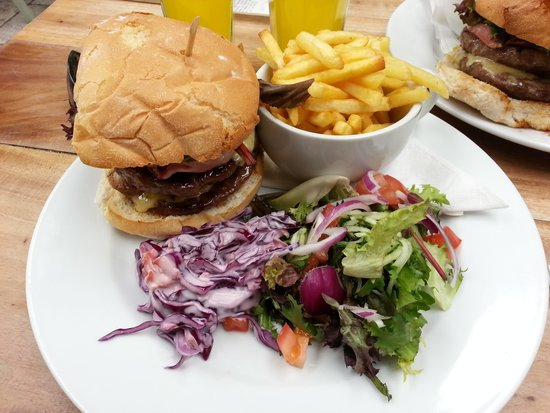 Belle and Joes at Timmermans: The hearty double burger
