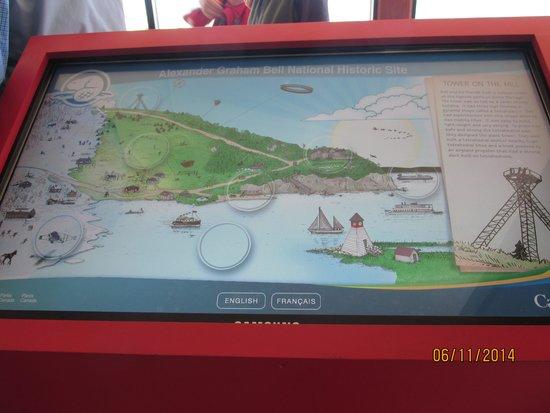 Alexander Graham Bell National Historic Site: Interactive site